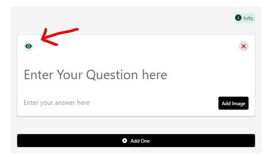 قابل نمایش کردن بلوک برای کاربران