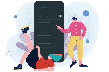 ترند های طراحی رابط کاربری موبایل 2021
