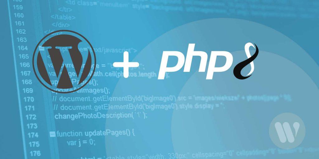 سازگاری PHP 8 با وردپرس