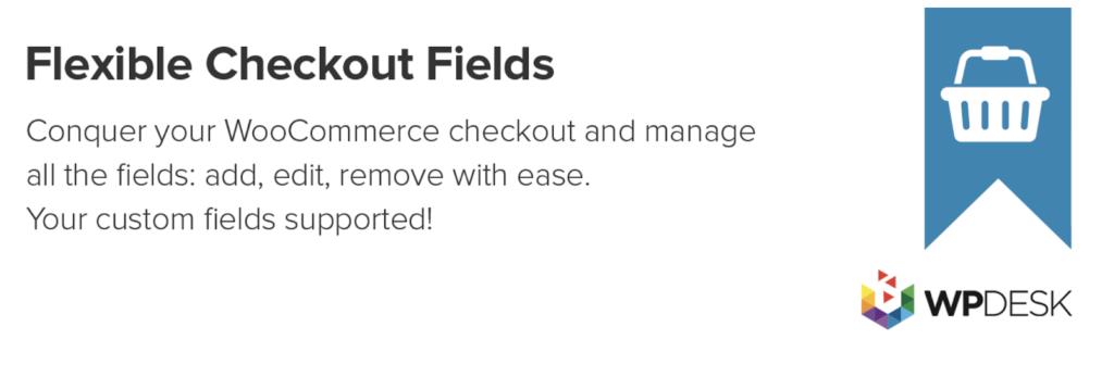 پلاگین Flexible Checkout Fields
