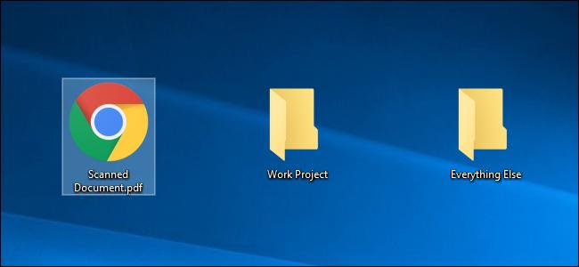 مرتب کردن دسکتاپ با پوشه بندی فایل ها